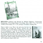 Topsails - The History of Sailing Barges | No 46 -2012