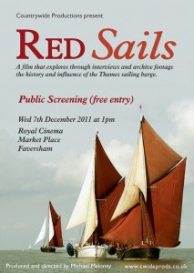 Red Sails - Free Screening - 7th December 2011 - Photograph copyright Peter Smith